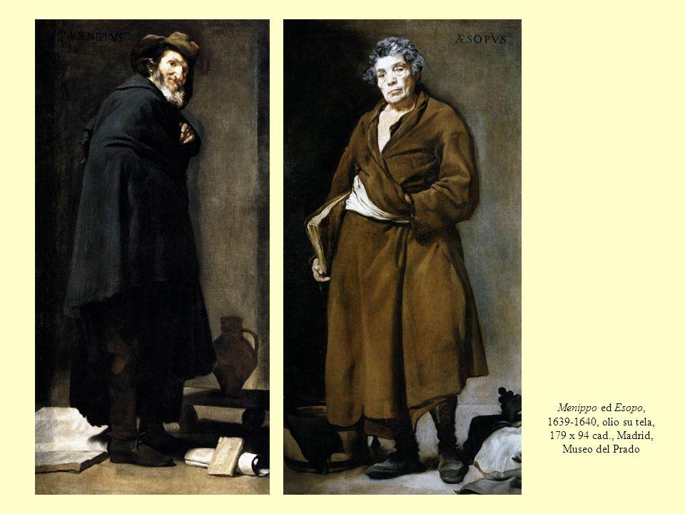 Menippo ed Esopo, 1639-1640, olio su tela, 179 x 94 cad