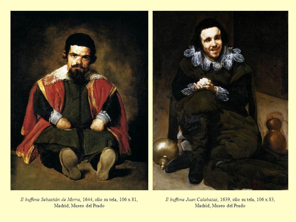 Il buffone Sebastián de Morra, 1644, olio su tela, 106 x 81, Madrid, Museo del Prado