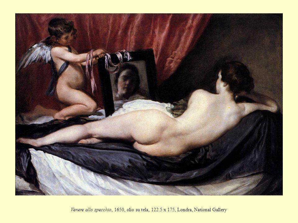 Venere allo specchio, 1650, olio su tela, 122
