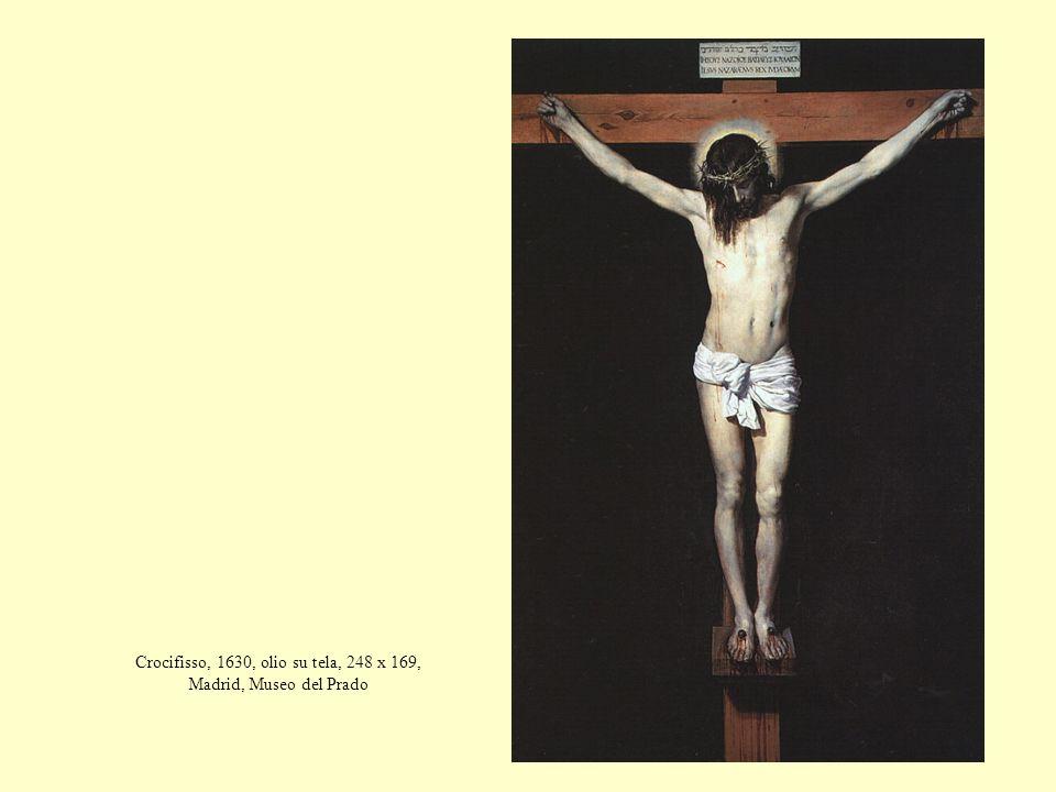 Crocifisso, 1630, olio su tela, 248 x 169, Madrid, Museo del Prado