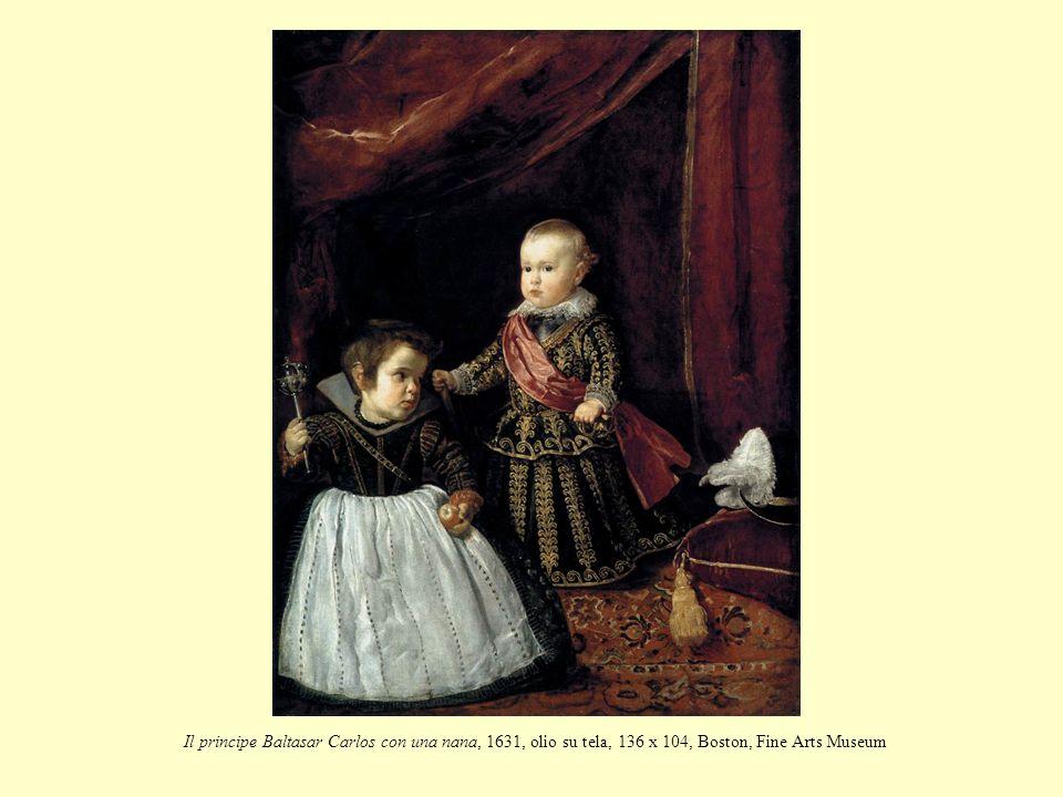 Il principe Baltasar Carlos con una nana, 1631, olio su tela, 136 x 104, Boston, Fine Arts Museum