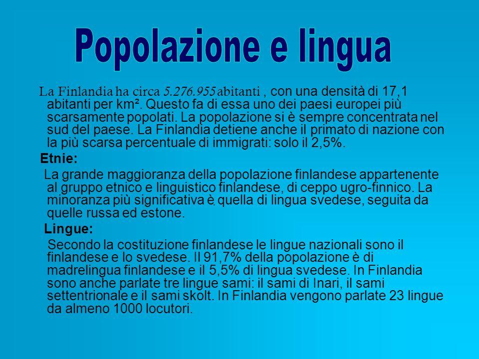 Popolazione e lingua