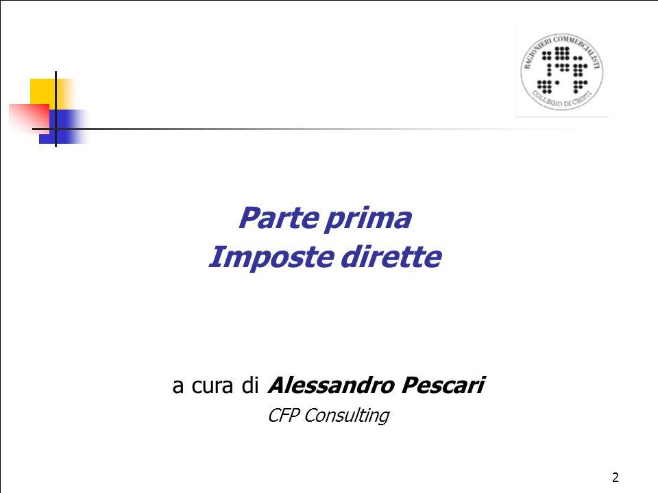 a cura di Alessandro Pescari
