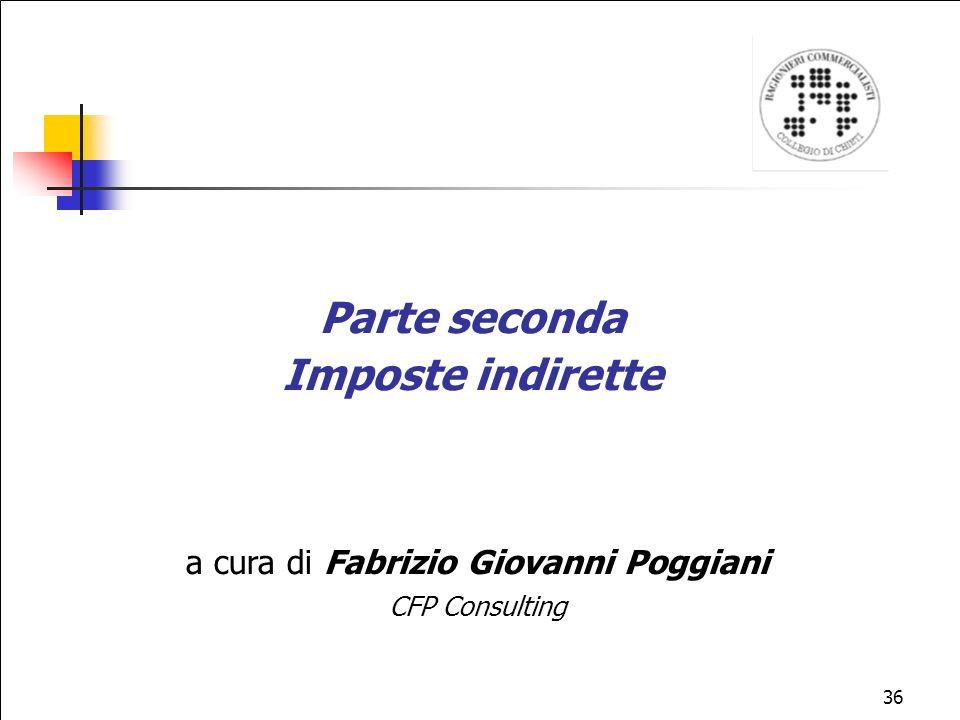 a cura di Fabrizio Giovanni Poggiani