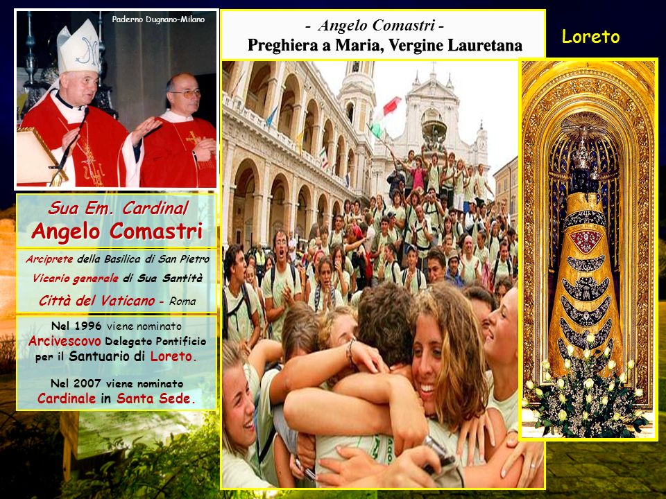 Arciprete della Basilica di San Pietro Vicario generale di Sua Santità