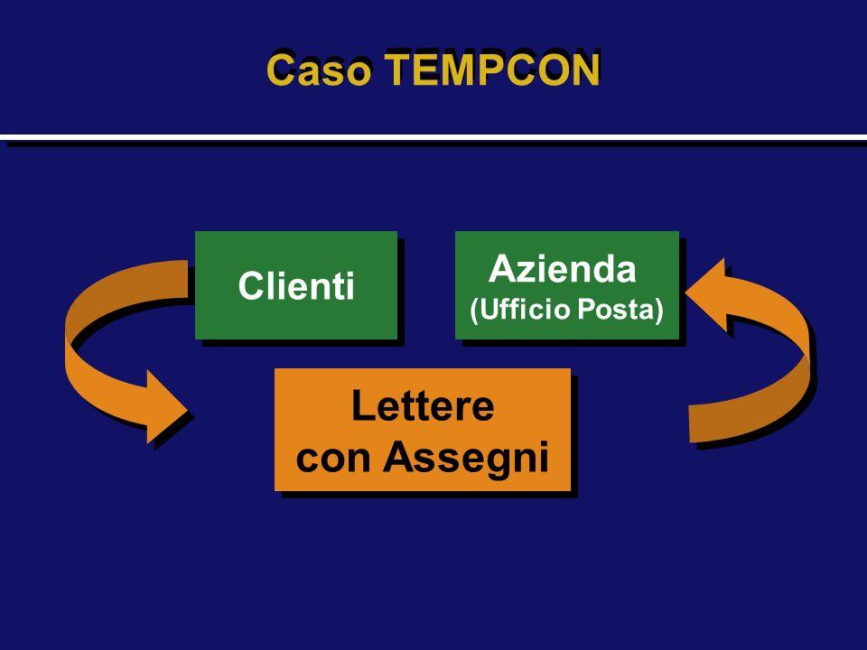 Caso TEMPCON Lettere con Assegni