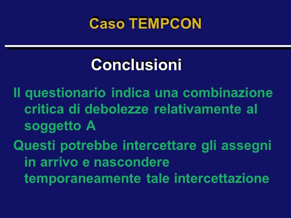 Conclusioni Caso TEMPCON