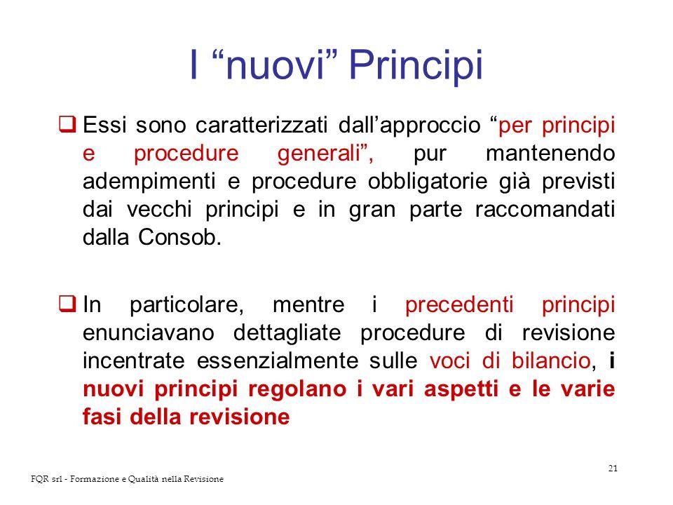 I nuovi Principi