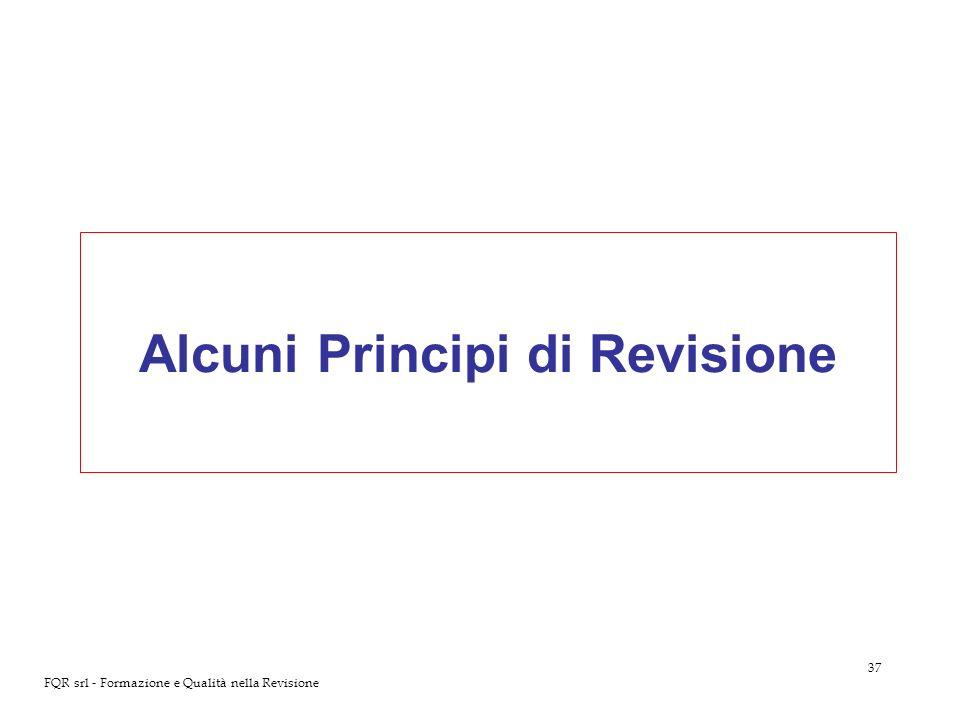 Alcuni Principi di Revisione