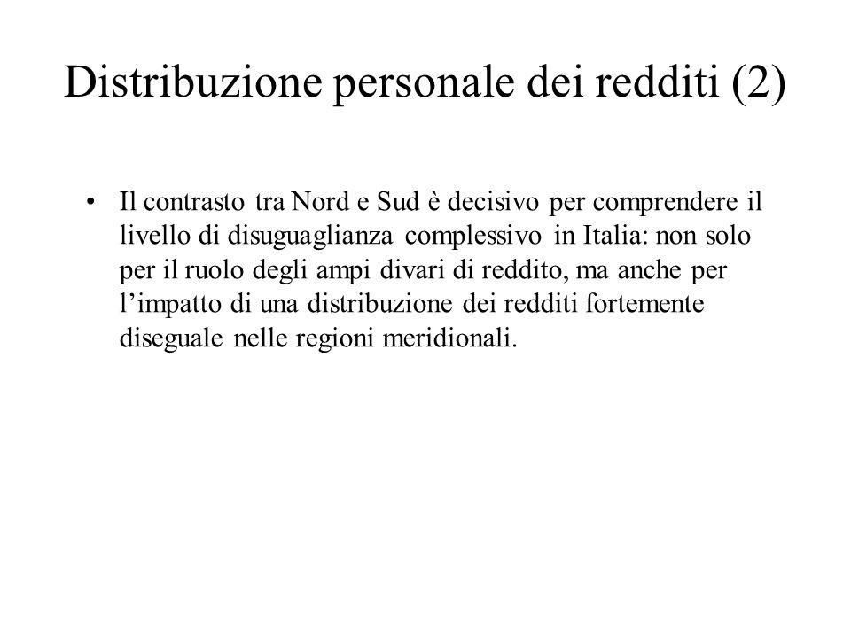 Distribuzione personale dei redditi (2)
