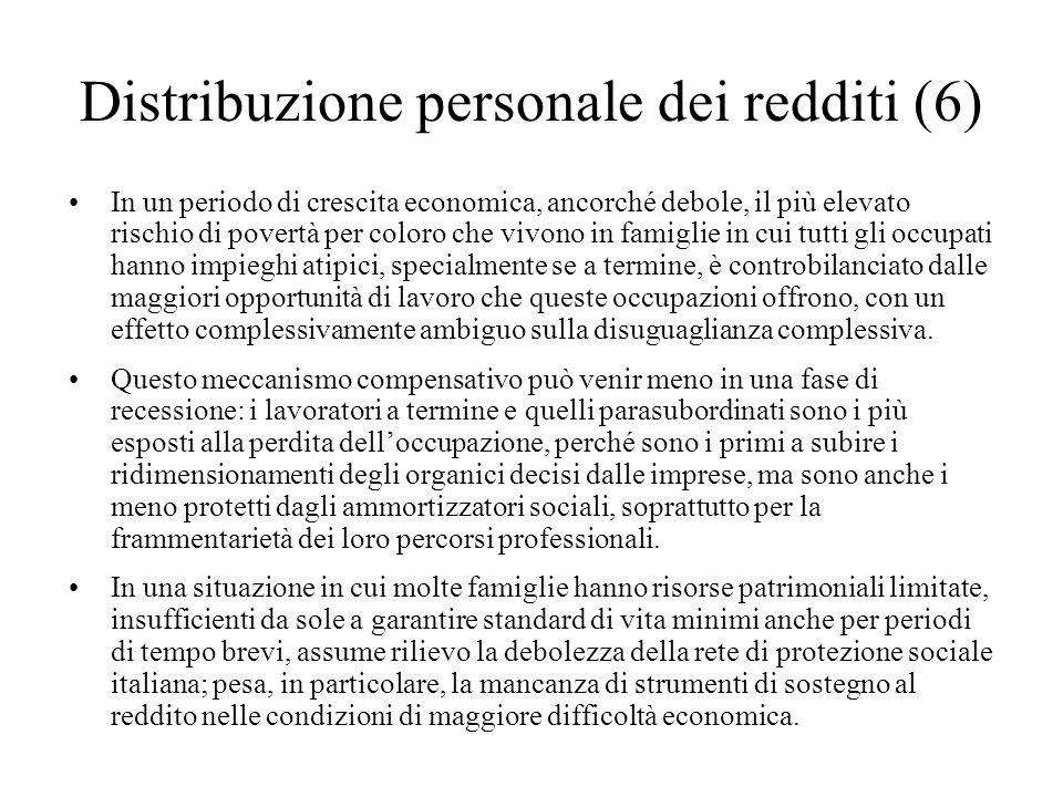 Distribuzione personale dei redditi (6)