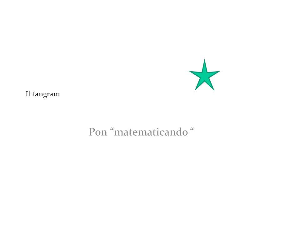 Il tangram Pon matematicando