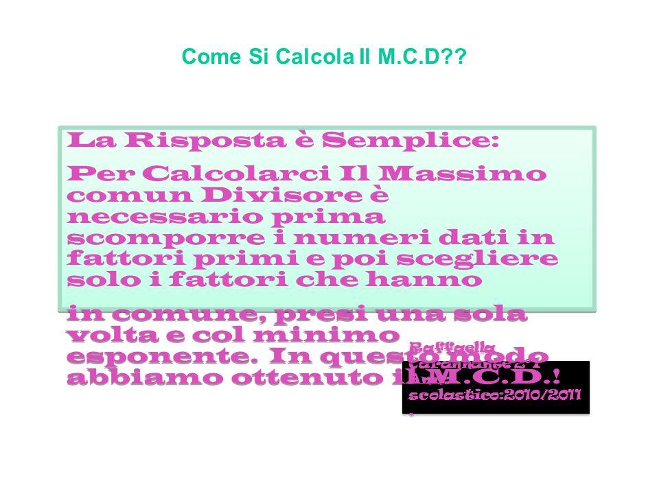 Raffaella Carannante 2ªI Anno scolastico:2010/2011.
