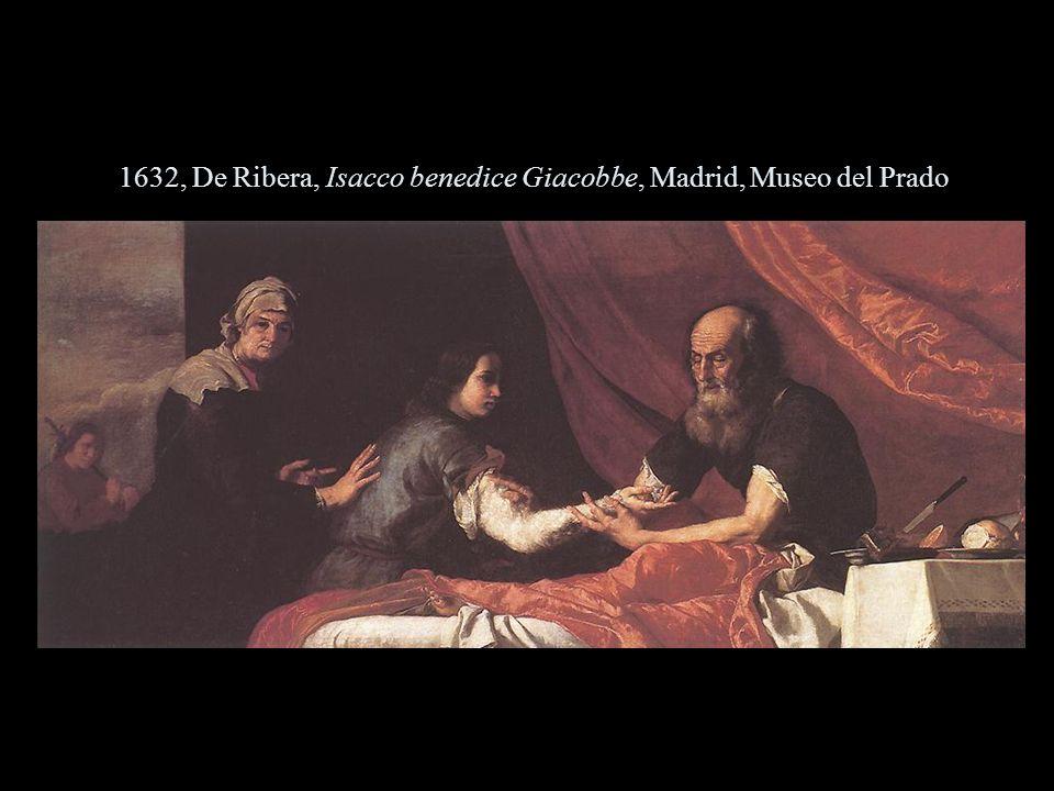 1632, De Ribera, Isacco benedice Giacobbe, Madrid, Museo del Prado