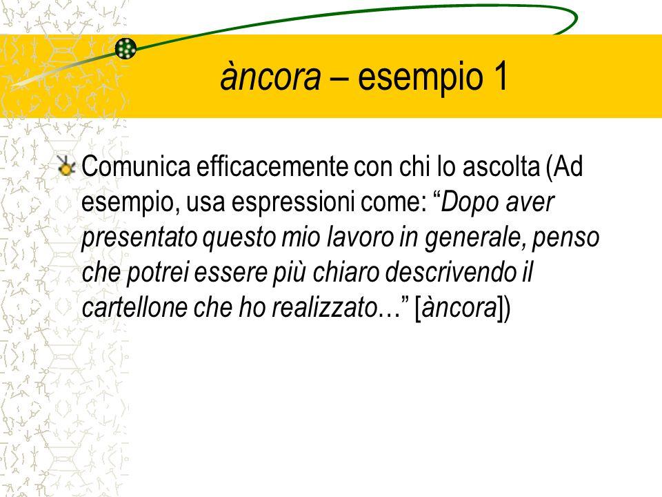 àncora – esempio 1