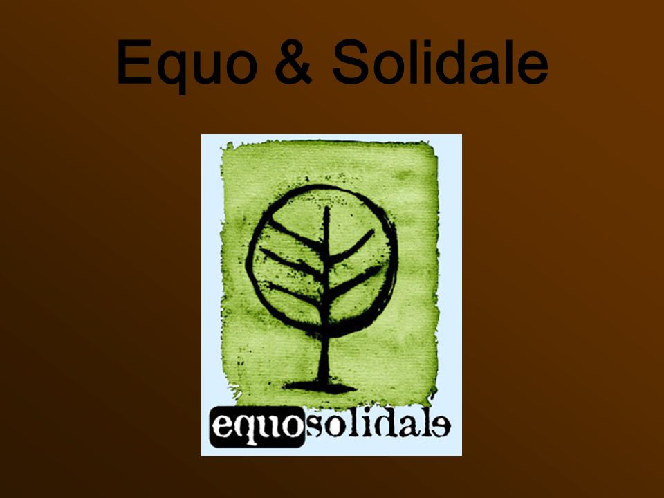 Equo & Solidale