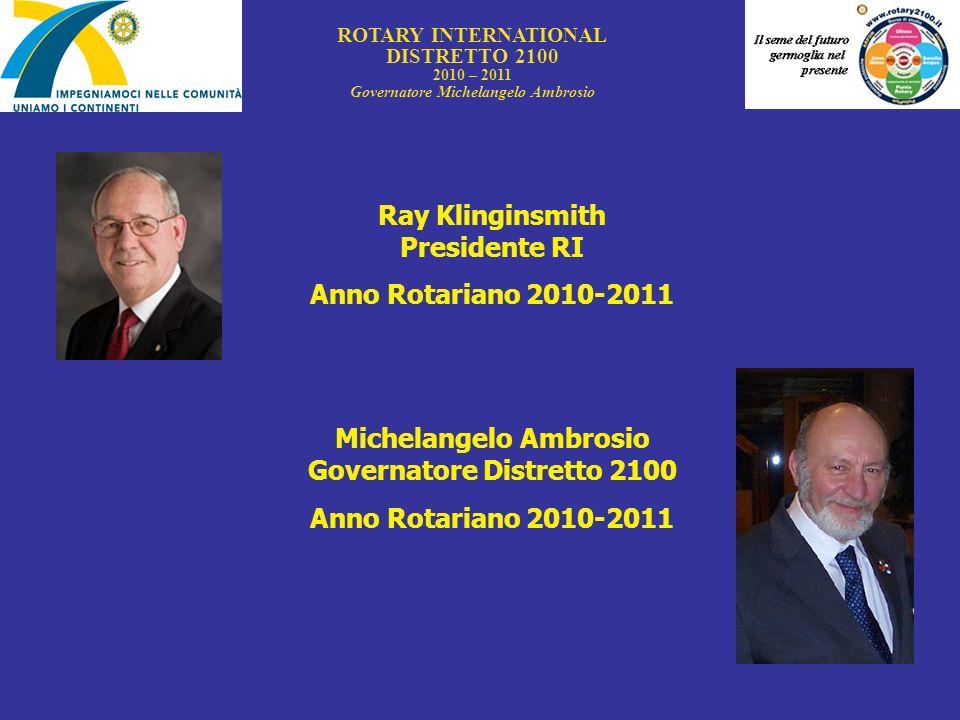 Michelangelo Ambrosio Governatore Distretto 2100