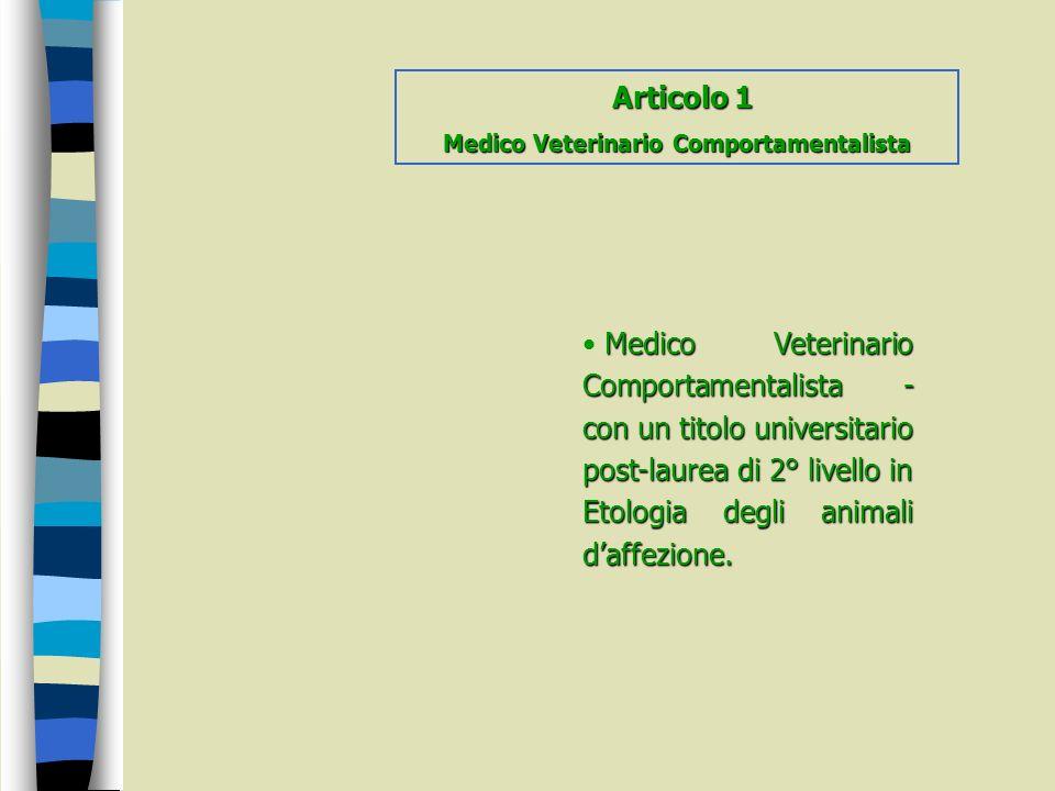 Medico Veterinario Comportamentalista