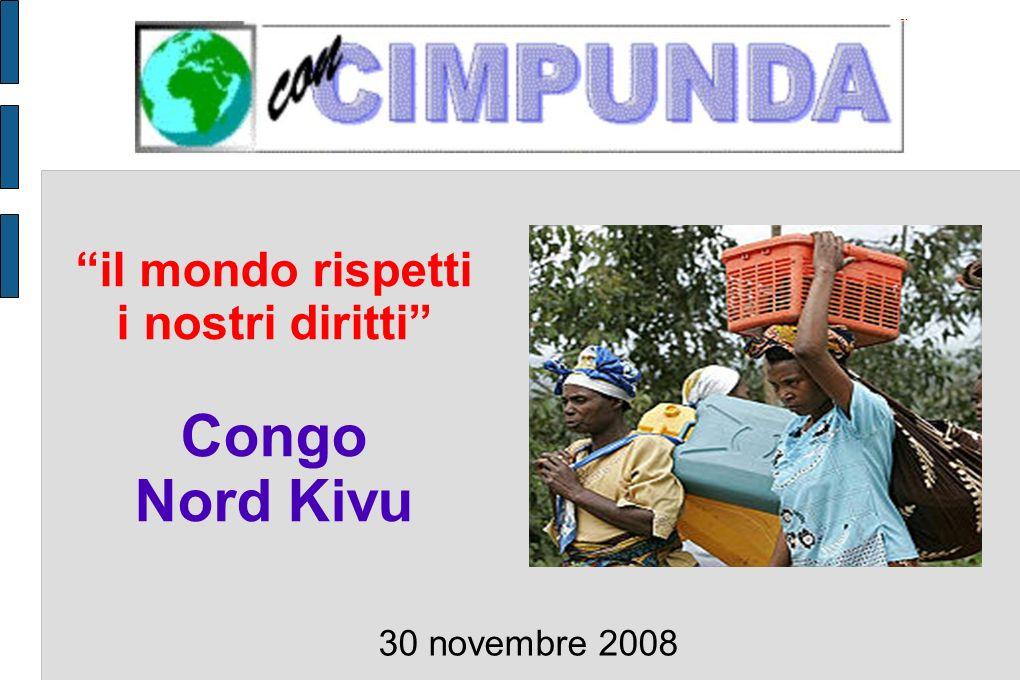 il mondo rispetti i nostri diritti Congo Nord Kivu