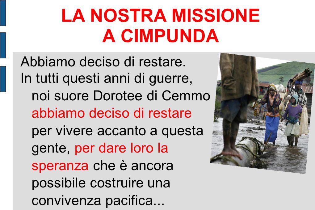 LA NOSTRA MISSIONE A CIMPUNDA
