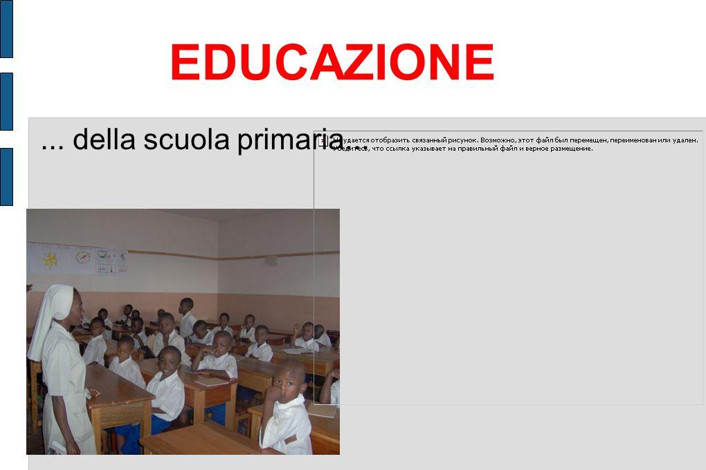 EDUCAZIONE ... della scuola primaria...