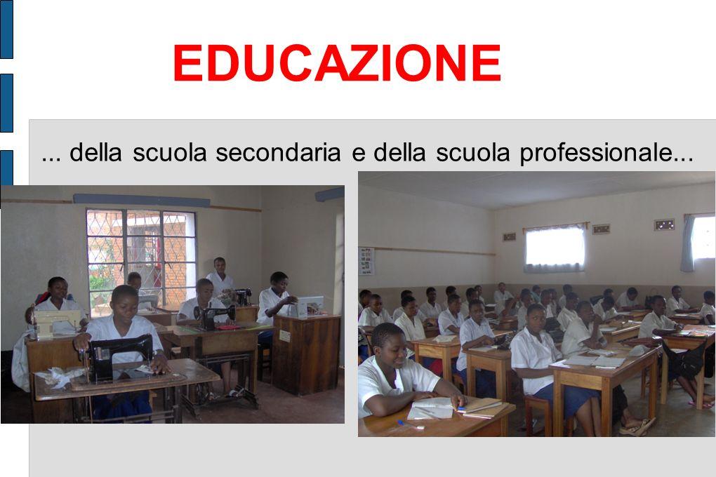 EDUCAZIONE ... della scuola secondaria e della scuola professionale...
