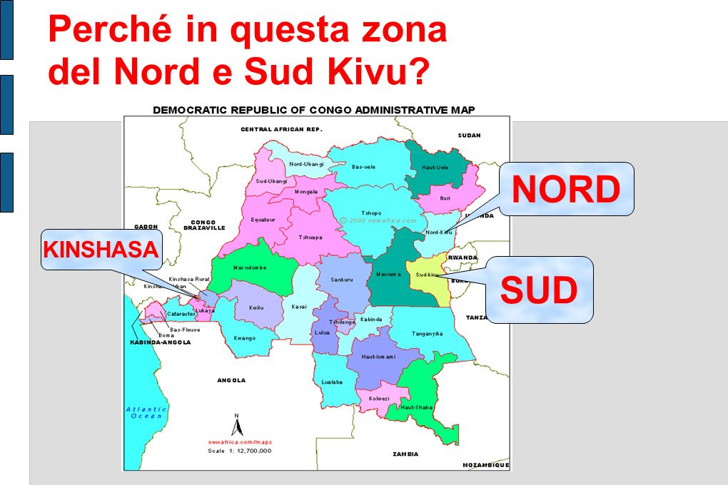 Perché in questa zona del Nord e Sud Kivu