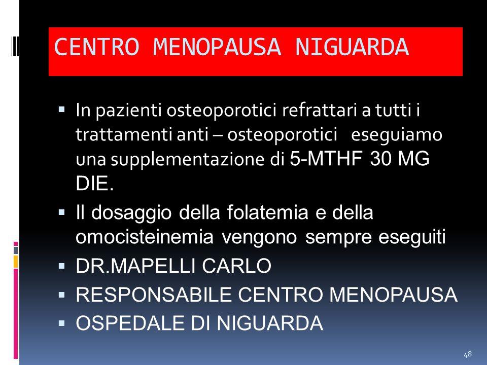 CENTRO MENOPAUSA NIGUARDA