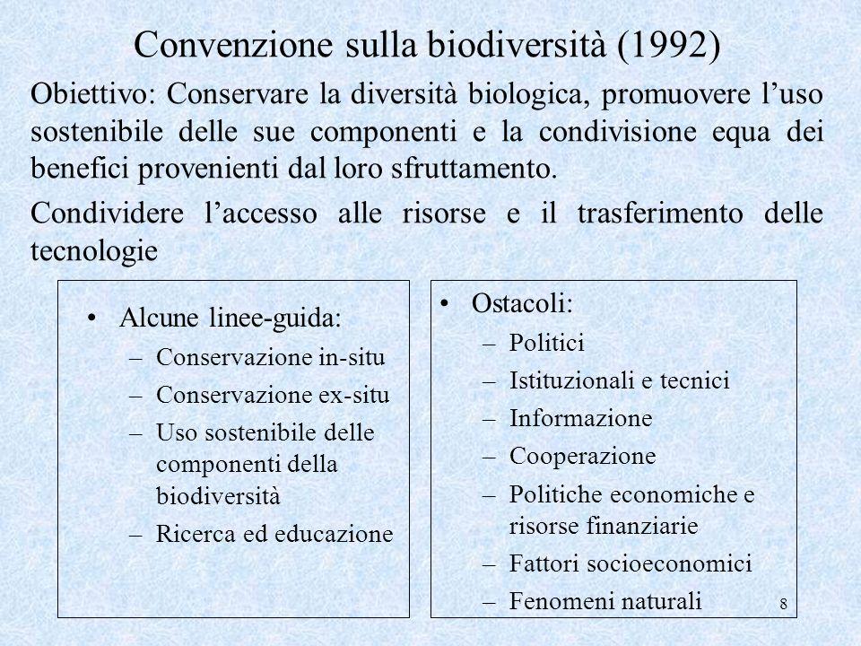 Convenzione sulla biodiversità (1992)