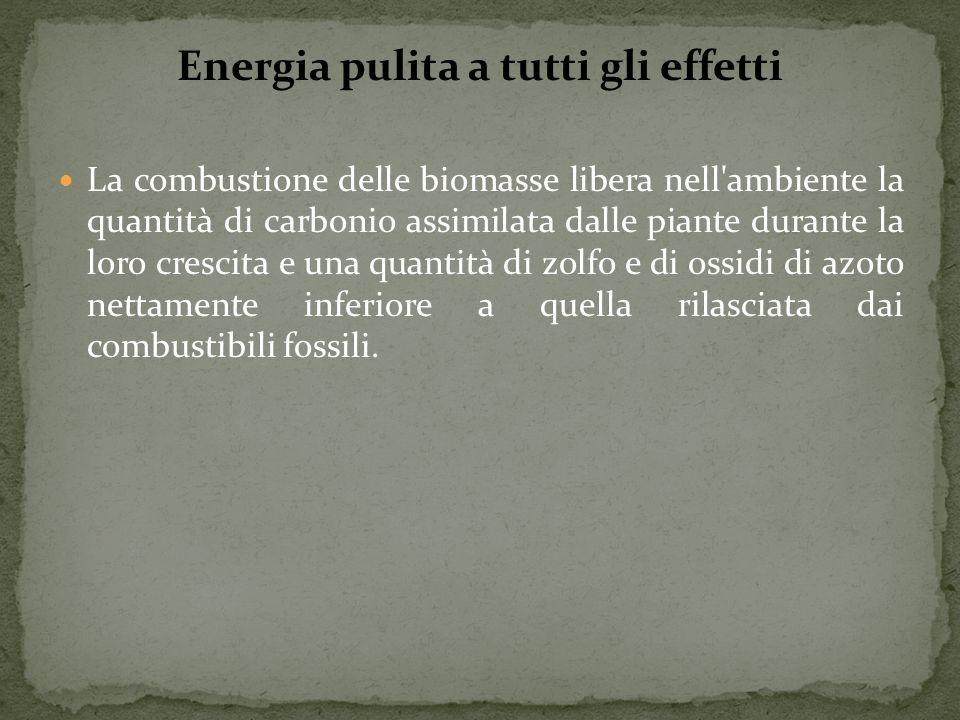 Energia pulita a tutti gli effetti