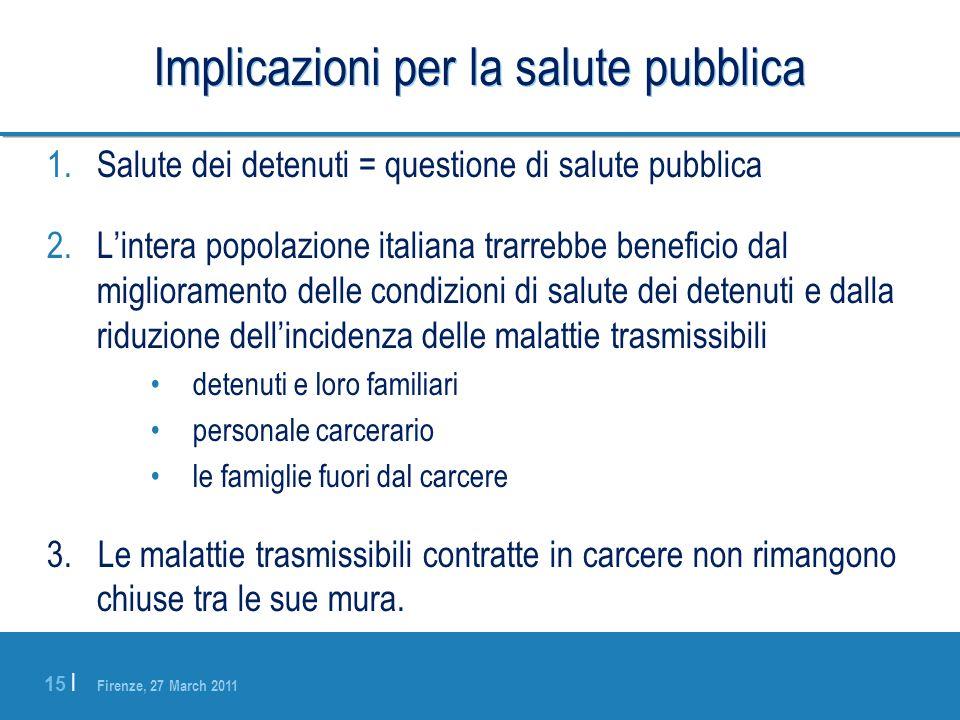Implicazioni per la salute pubblica