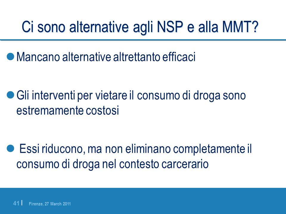 Ci sono alternative agli NSP e alla MMT
