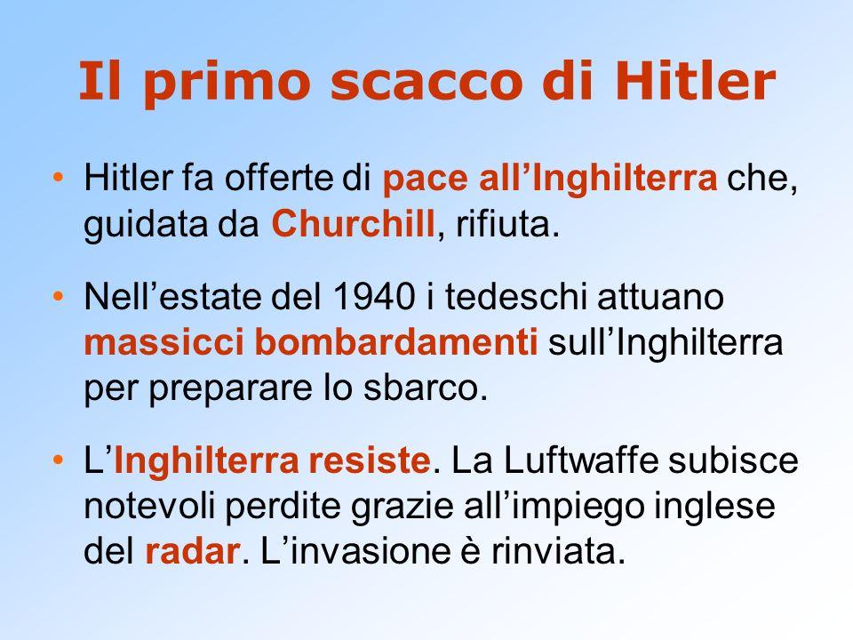 Il primo scacco di Hitler