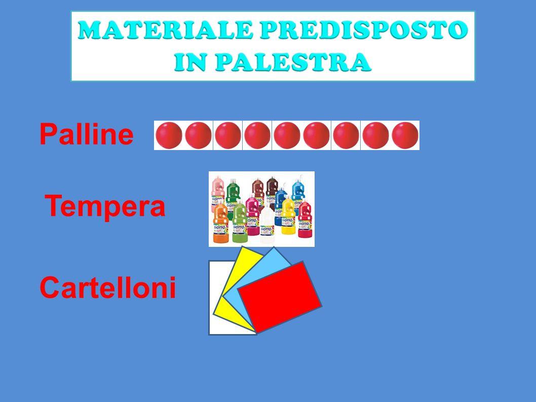 Palline Tempera Cartelloni