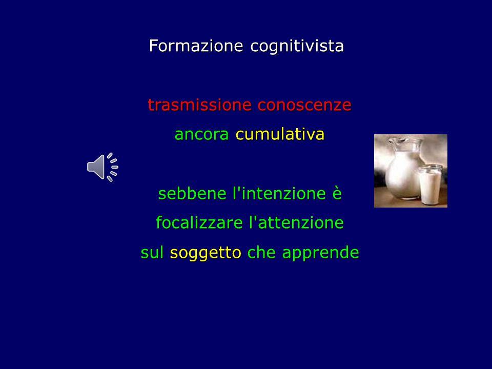 Formazione cognitivista