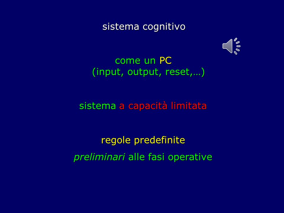 come un PC (input, output, reset,…)
