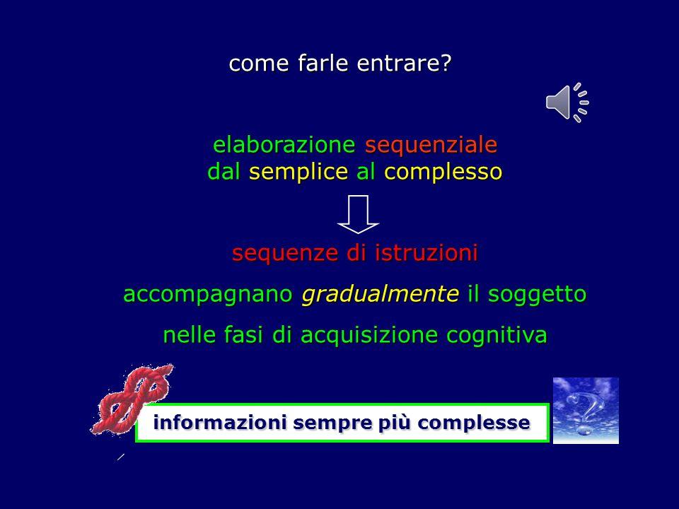 elaborazione sequenziale dal semplice al complesso