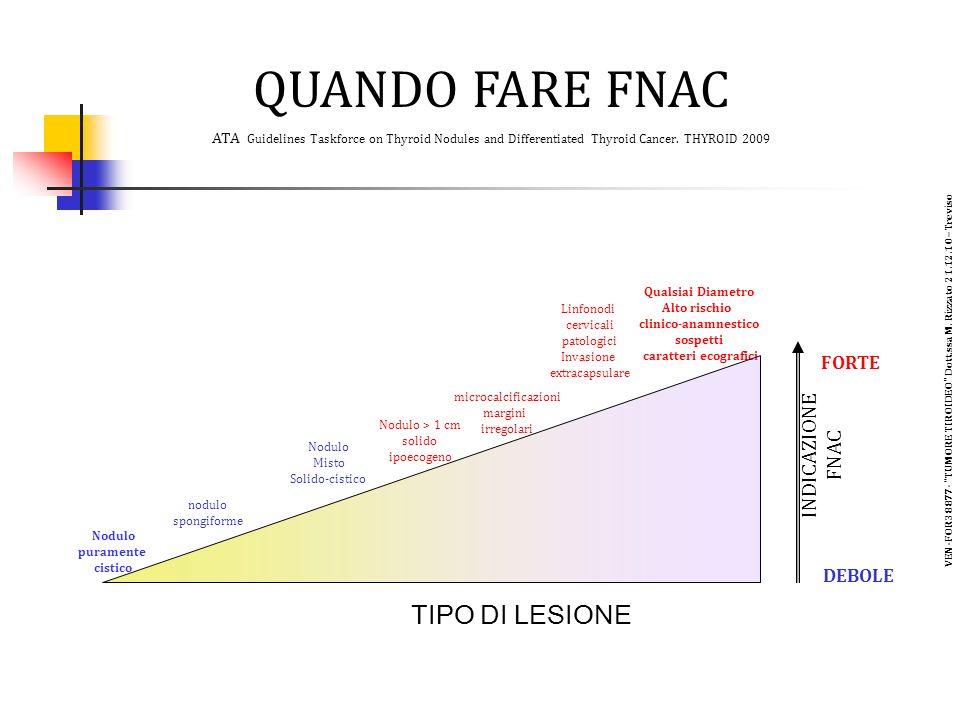 VEN-FOR38877- TUMORE TIROIDEO Dott.ssa M. Rizzato 21.12.10 –Treviso