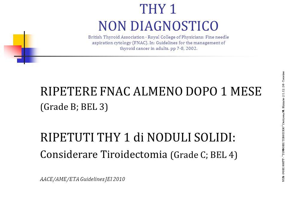 VEN-FOR38877- TUMORE TIROIDEO Dott.ssa M. Rizzato 21.12.10 -Treviso