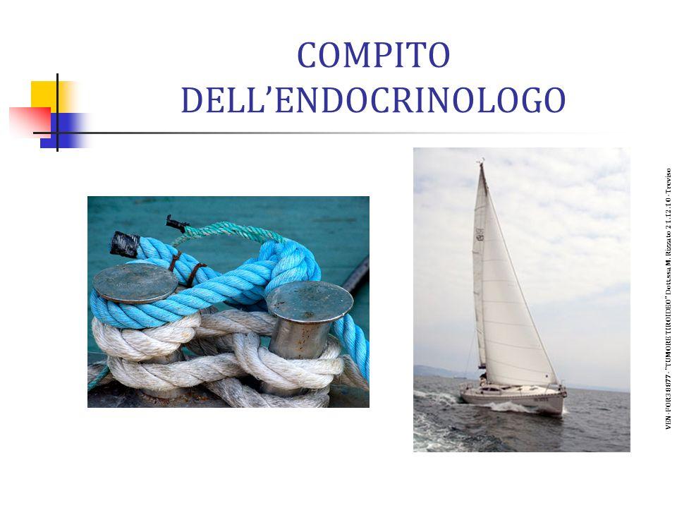 COMPITO DELL'ENDOCRINOLOGO