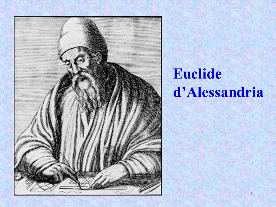 Euclide d'Alessandria