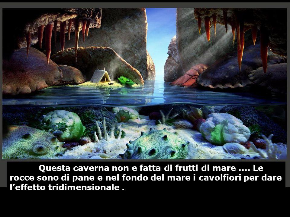 Questa caverna non e fatta di frutti di mare