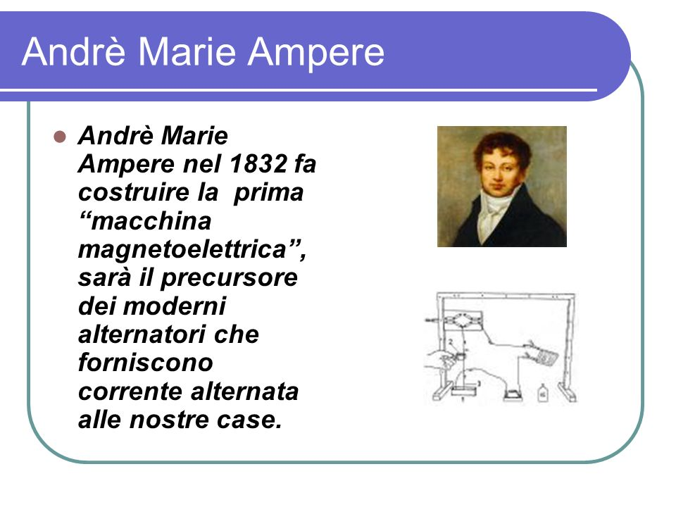 Andrè Marie Ampere