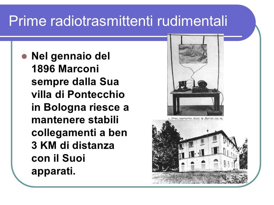 Prime radiotrasmittenti rudimentali