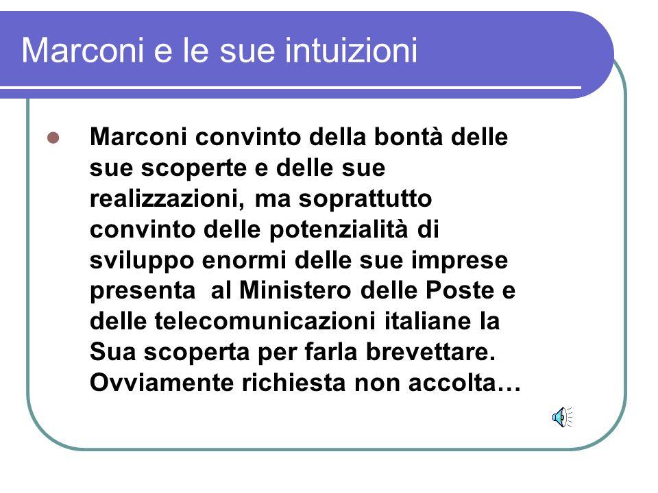 Marconi e le sue intuizioni