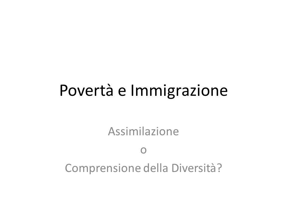 Povertà e Immigrazione