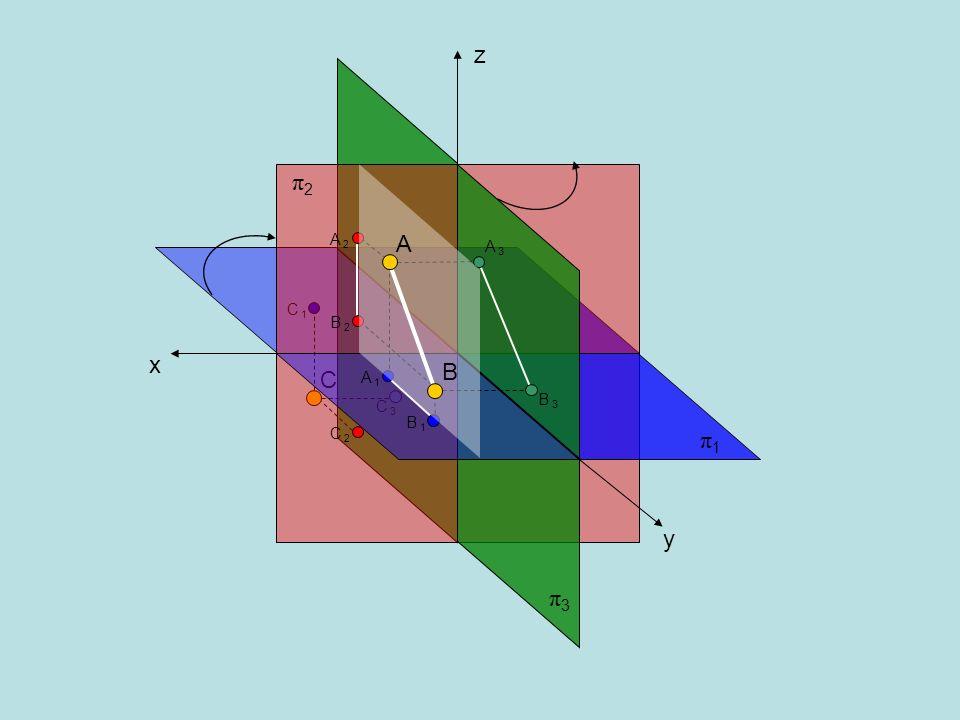 z π2 A 2 A A 3 C 1 B 2 x B C A 1 B 3 C 3 B 1 C 2 π1 y π3