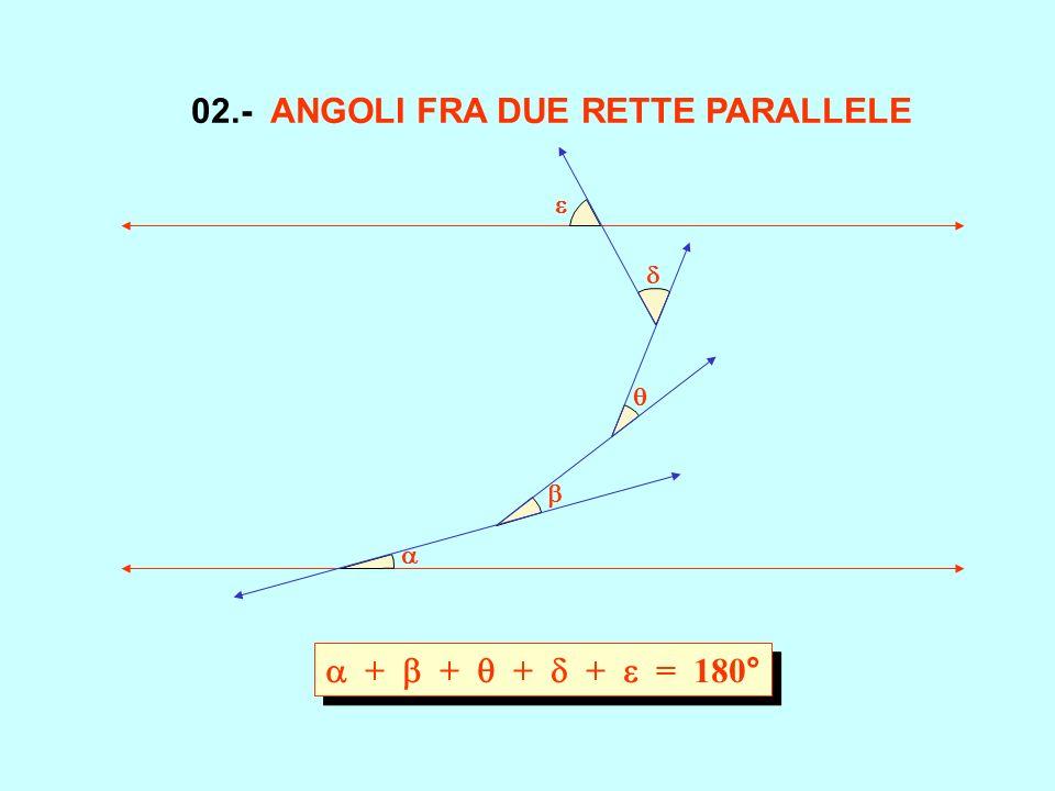 02.- ANGOLI FRA DUE RETTE PARALLELE