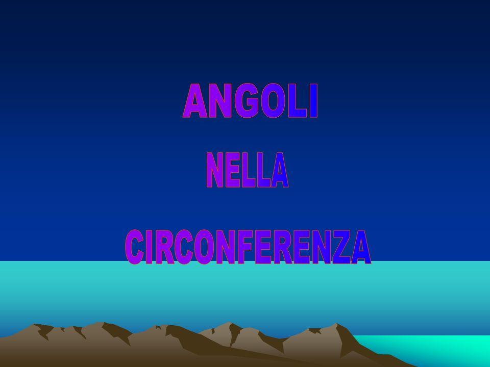 ANGOLI NELLA CIRCONFERENZA