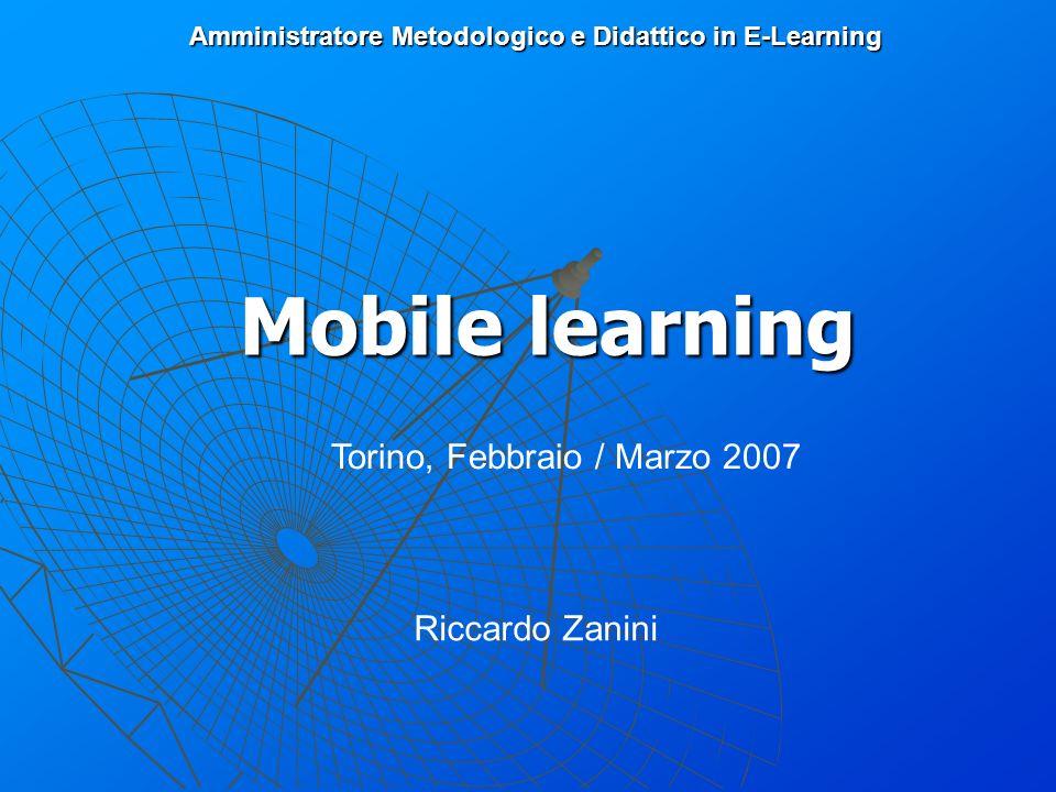 Amministratore Metodologico e Didattico in E-Learning